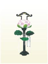 蓮華燈(高さ90cm)
